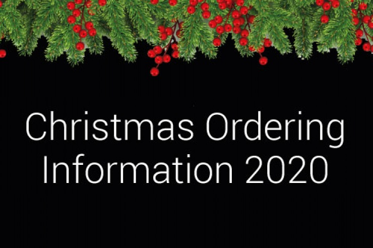 Order & Delivery Schedule For Christmas & New Year