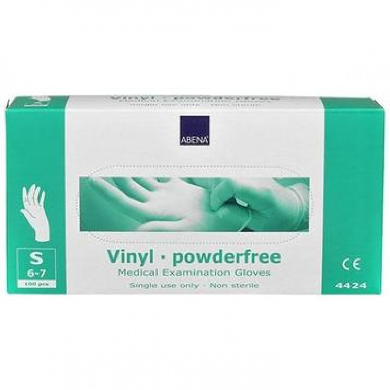 Abena Vinyl Powder Free Gloves
