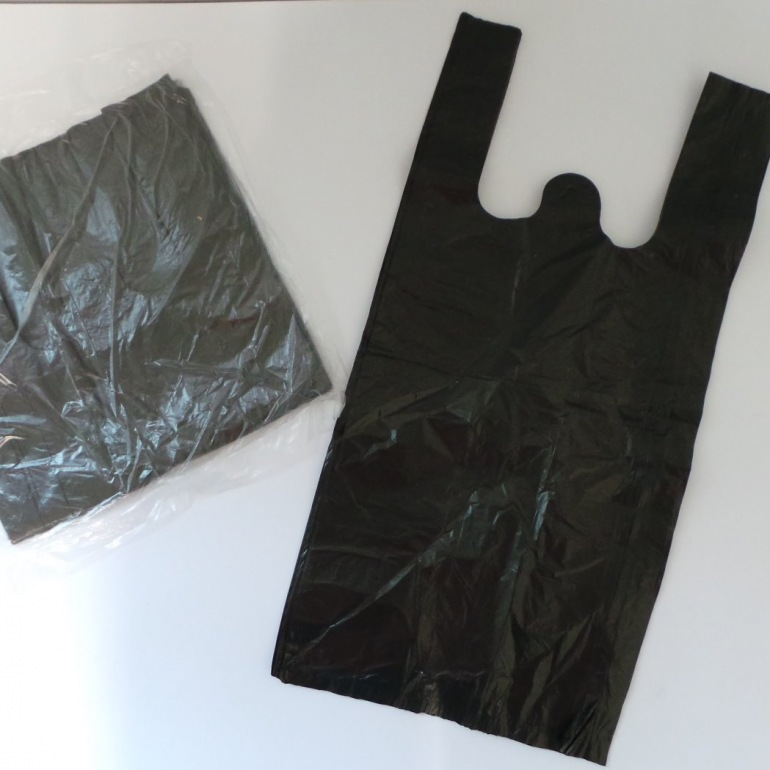 Incodirect Black Scented Hygiene Disposal Bags