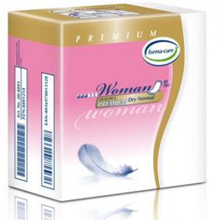 Forma-Care Woman Premium Dry Range Small Shaped Pad