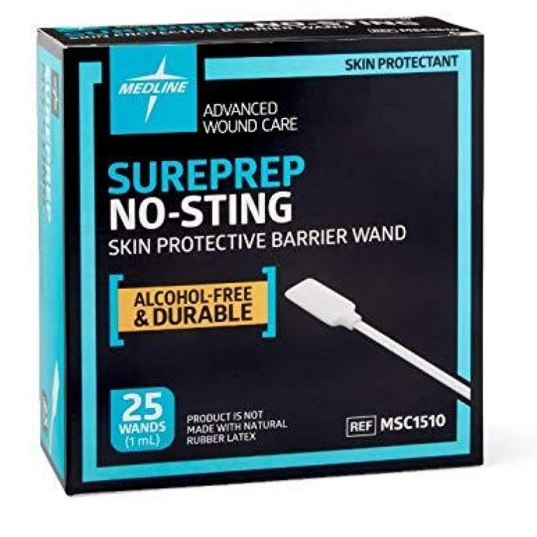 Sureprep No-Sting Barrier Wipes