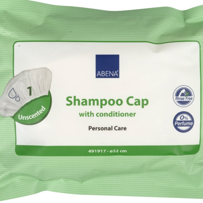 Abena Shampoo Cap with Conditioner