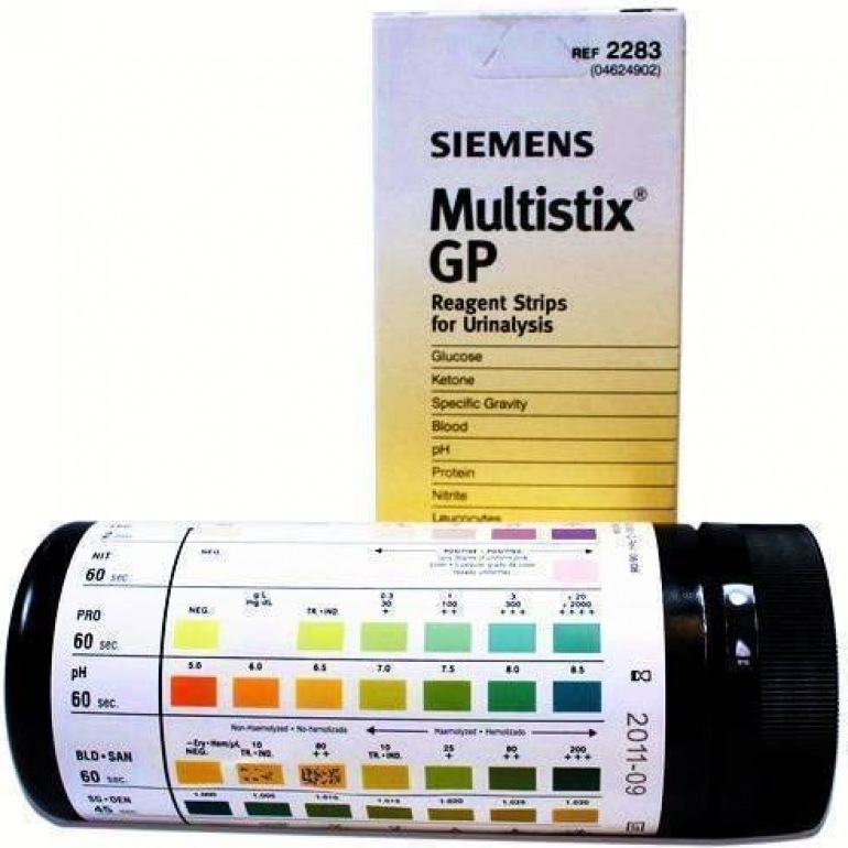 Siemens Urine Test Sticks (x25 GP Reagent)