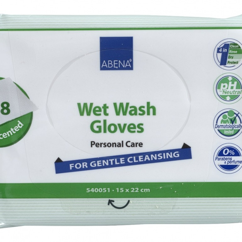 Abena Wet Wash Glove