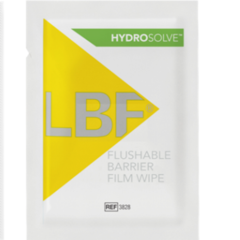 LBF Hydrosolve Barrier Film Wipes