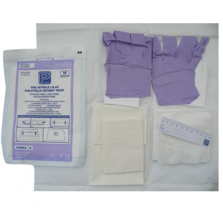 Polyfield Nitrile Patient Pack Range