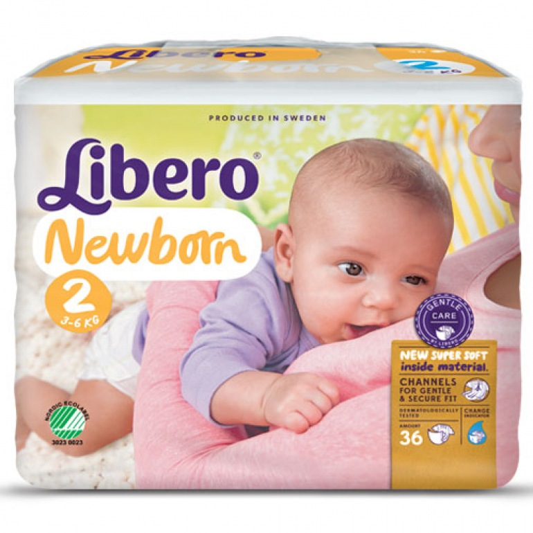 Libero Newborn 2 Baby Nappies