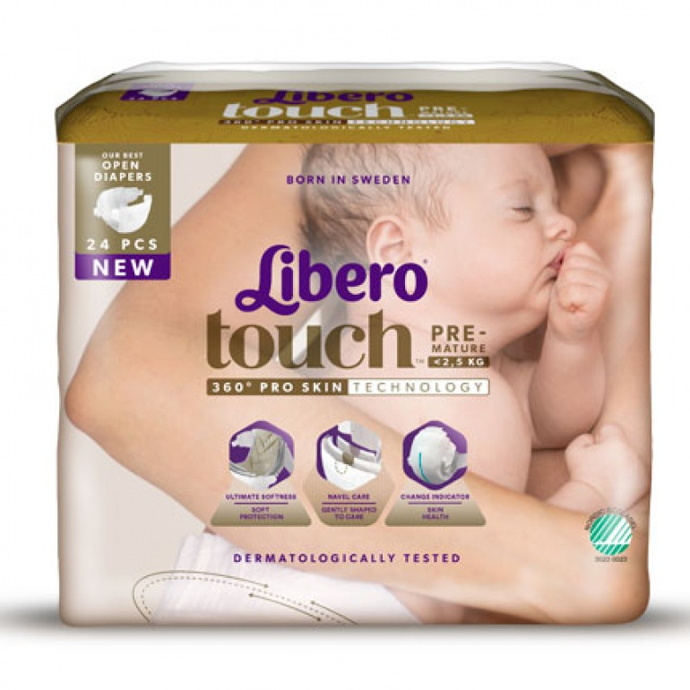 Libero Touch Premature Baby Nappies