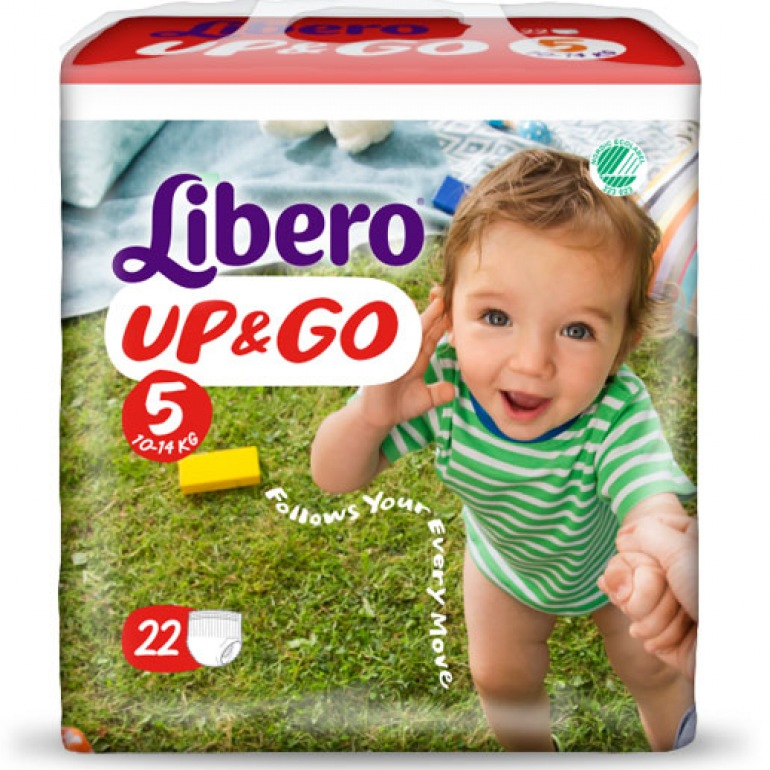Libero UP&GO 5 Pull-Up Nappies