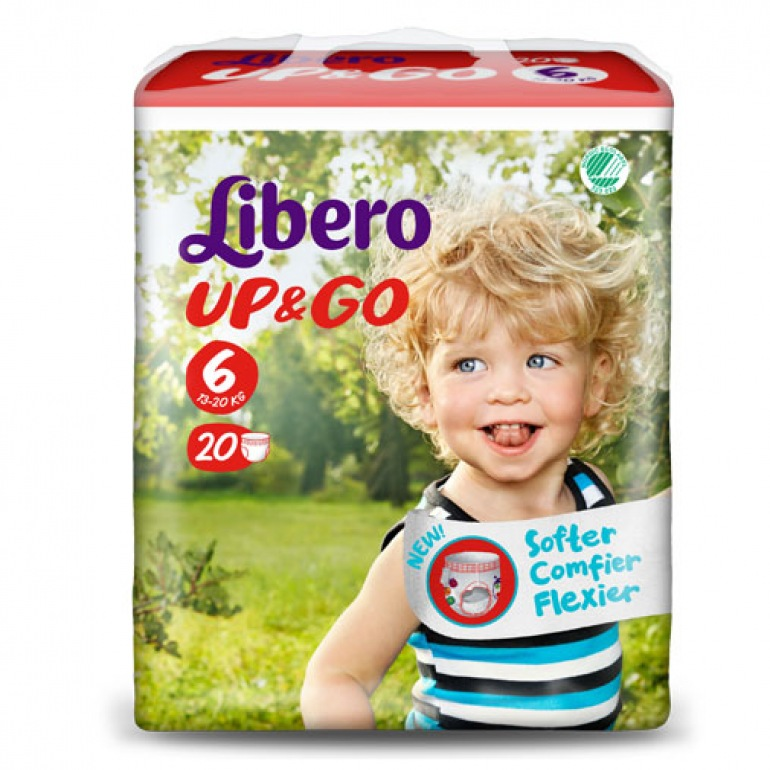 Libero UP&GO 6 Pull-Up Nappies
