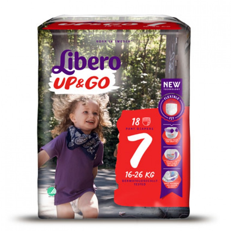 Libero UP&GO 7 Pull-Up Pants
