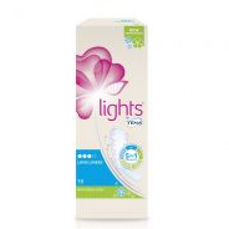 LIGHTS By TENA Long Liner With Fresh Scent