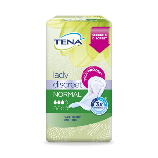 TENA Lady Discreet Normal Pads